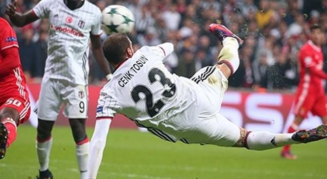 Cenk Tosun'un golü 'haftanın en iyisi'ne aday