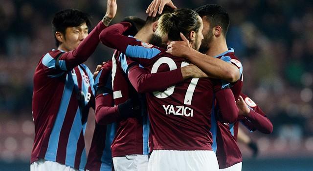 Trabzonspor:5 Kızılcabölük:0 | Ziraat Türkiye Kupası