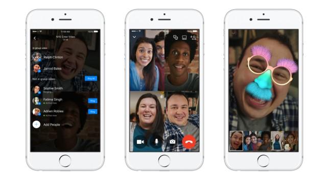 Facebook'tan 2016'nın son özelliği devrede: Grup görüntülü sohbet