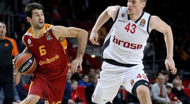 Galatasaray Odeabank 75-90 Brose Baskets