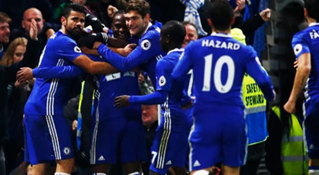 Chelsea zorlandı ama kazandı!