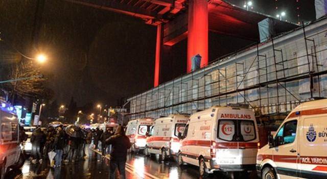 İstanbul'da gece kulübünde saldıran terörist aranıyor!