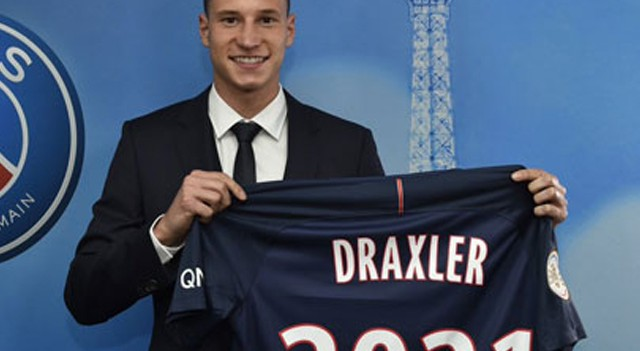 PSG Draxler'in transferini resmen açıkladı