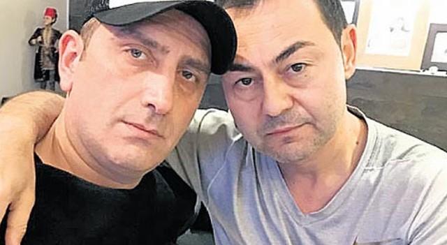 Serdar Ortaç'tan DJ Ufuk Akyıldız'a ziyaret