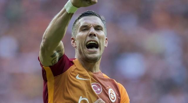 Çin'den Galatasaray'a Podolski mesajı!