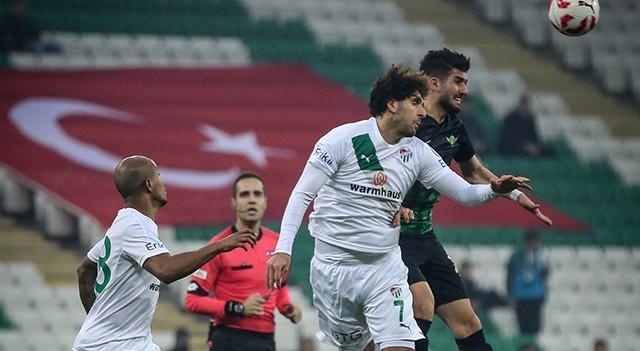 Bursaspor:1 Akhisar Belediyespor: 4 | Süper Lig maç sonucu