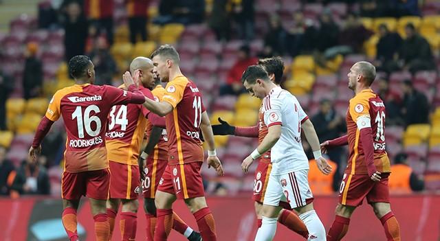 Galatasaray 6-2 Erzicanspor   Ziraat Türkiye Kupası Maç Sonucu
