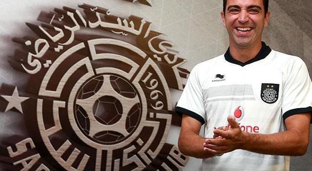 Xavi imzayı attı! Dünyaca ünlü futbolcu...