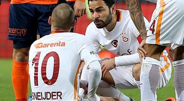 G.Saray'a Sneijder ve Selçuk'tan kötü haber!