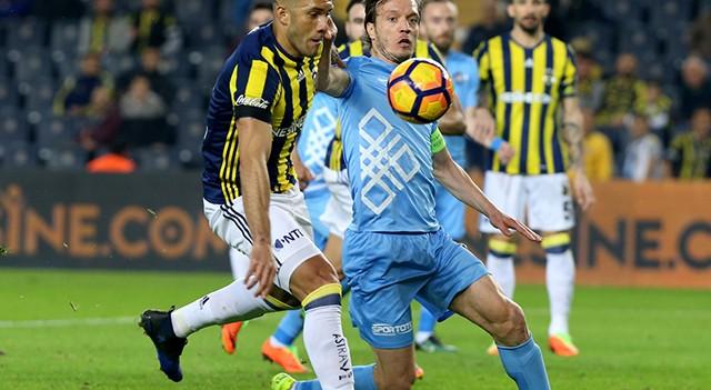 Fenerbahçe 1-0 Osmanlıspor   Spor Toto Süper Lig Maç Sonucu