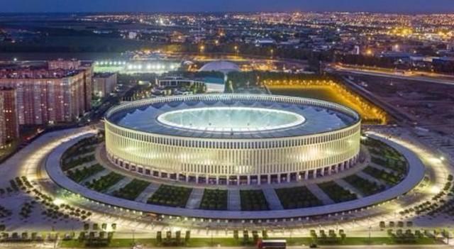 Krasnodar Arena'ya büyük onur!