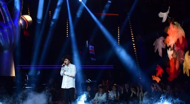 O Ses Türkiye'de Taylan Bayri'nin performansı