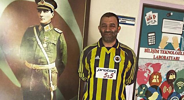 Şevket Çoruh, Fenerbahçe efsanesinin formasıyla oy verdi
