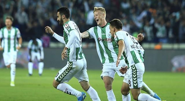 Türkiye Kupası'nda ilk finalist Konyaspor!