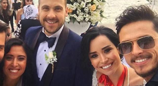 Ümit Erdim ile Seda Çınar evlendi
