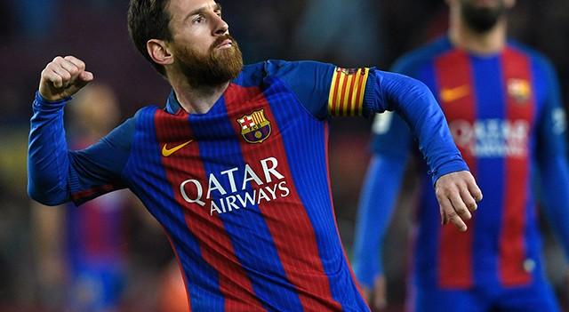 Messi imzayı atıyor!