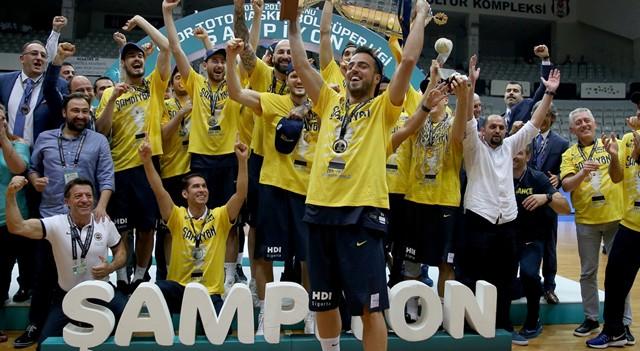 Spor Toto Basketbol Süper Ligi şampiyonu Fenerbahçe