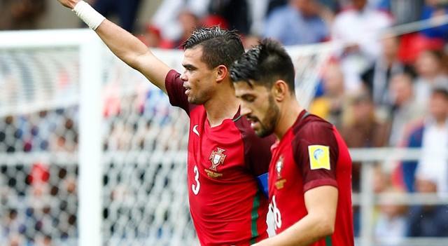 Quaresma ortaladı, Pepe golünü attı! Portekiz üçüncülüğü aldı...