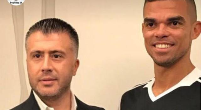 Ve beklenen oldu! Pepe Beşiktaş formasını giydi...