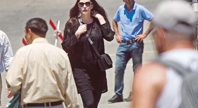 Hollywood yıldızı Liv Tyler'ı Efes'te kimse tanımadı!