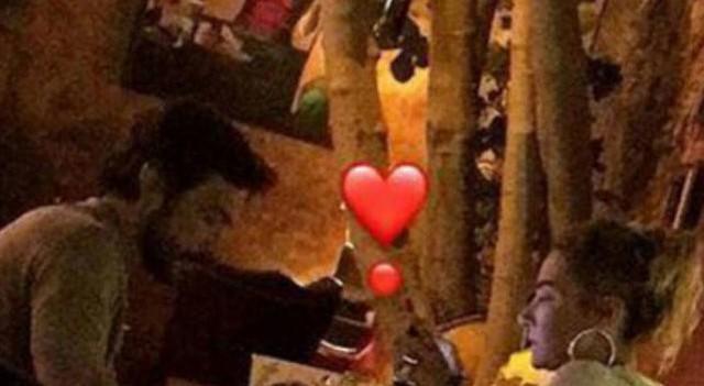 Ahmet Kural ile Sıla yemekte görüntülendi
