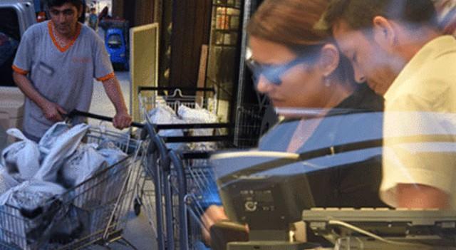 Deniz Seki'nin 2.500 liralık mutfak alışverişi
