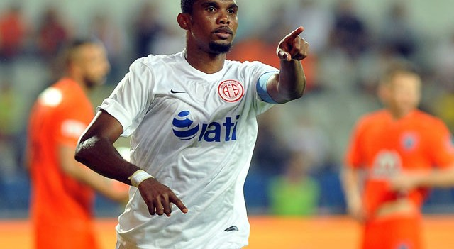 Antalyaspor'dan Samuel Eto'o açıklaması! F.Bahçe'ye gidiyor mu?