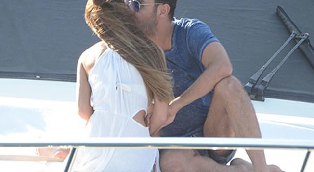 Teknede aşka geldi