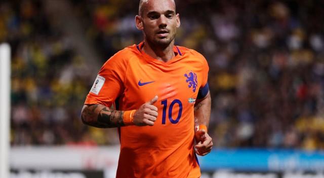 Sneijder'in menajerinden resmi açıklama!