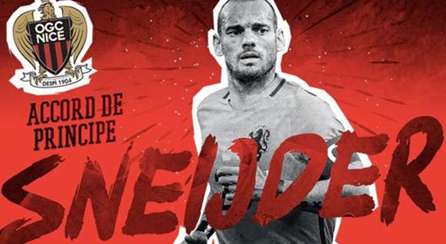 Sneijder Nice ile anlaştı! Transferi resmen duyurdular...