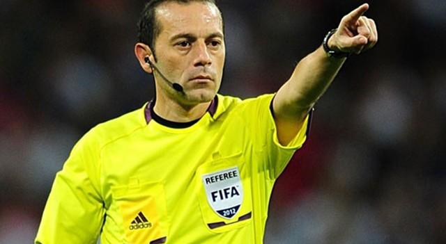 UEFA'dan Cüneyt Çakır'a kritik görev!