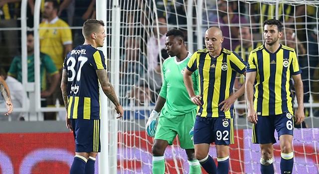 Fenerbahçe UEFA Avrupa Ligi'ne veda etti!