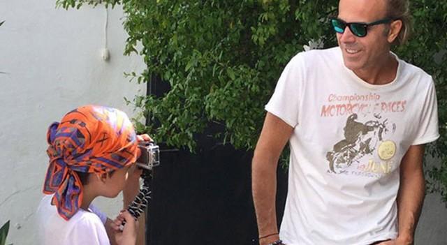 Soner Arıca'dan Ricky Martin pozu