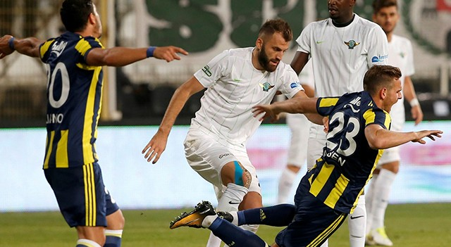 Akhisarspor-Fenerbahçe maç sonucu: 1-0