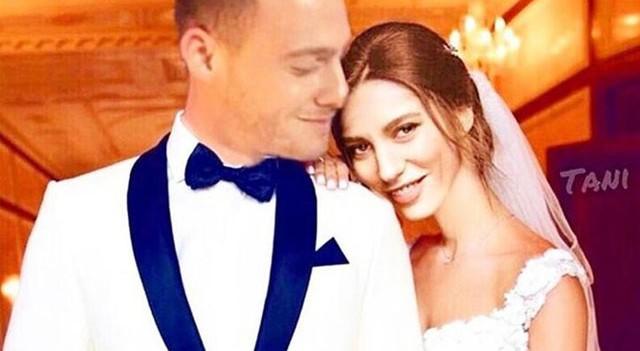 Serenay Sarıkaya ile Kerem Bürsin'i evlendirdiler