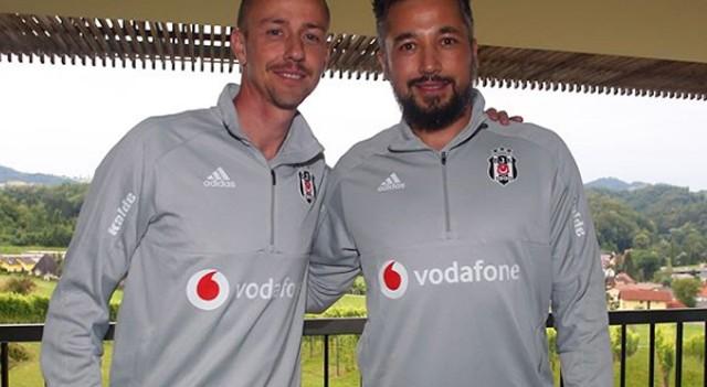 Beşiktaş'ta Guti ve İlhan Mansız göreve başladı!