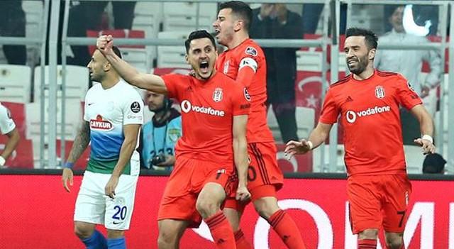 Beşiktaş'ın çifte bayramı! Mustafa Pektemek'in gecesi...