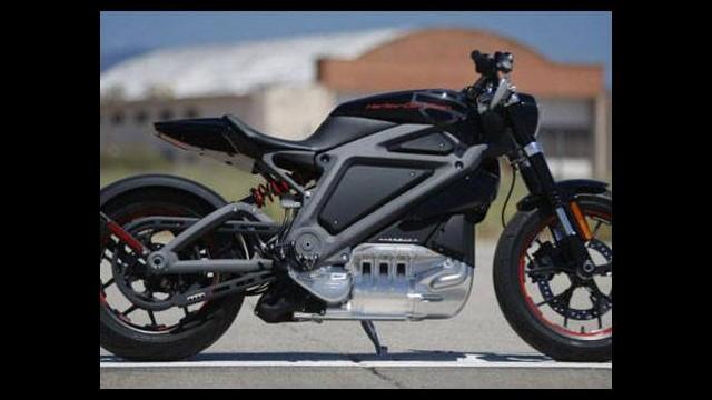 Harley Davidson da elektriklendi