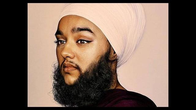 En güzel sakallı kadın