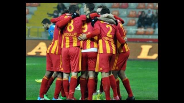 Kayserispor'da çeyrek final sevinci