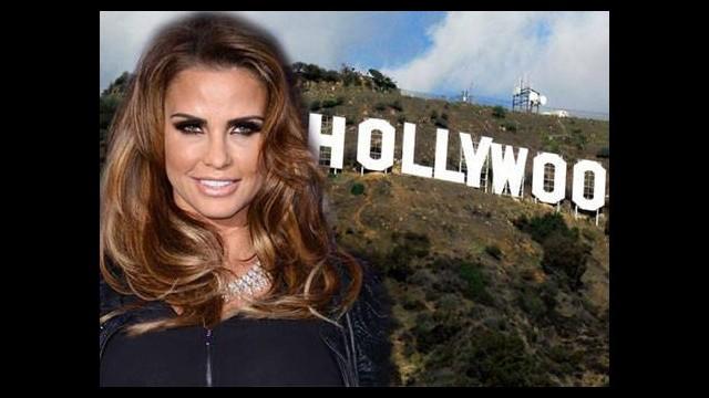 Katie Price sonunda Hollywood'da