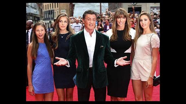 Stallone'ın kızları
