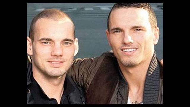 Büyük bomba! Sneijder'in kardeşi...