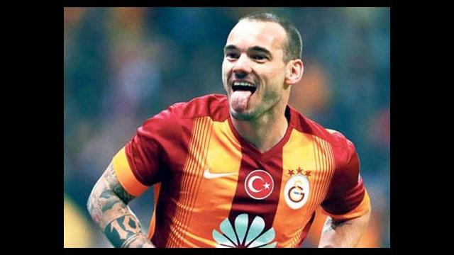 Sneijder'dan mutlusu yok