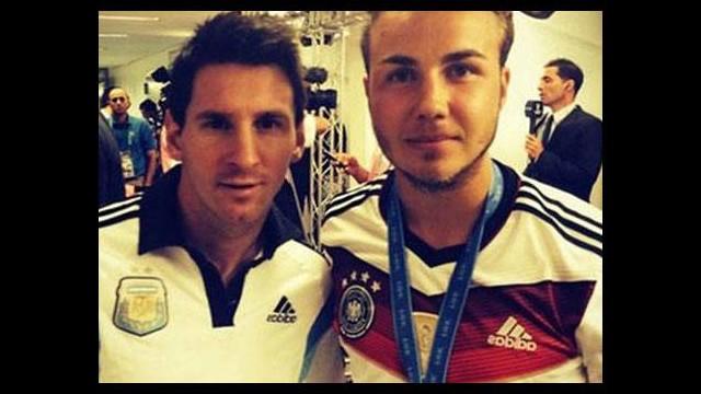 Götze'den Messi'ye övgü