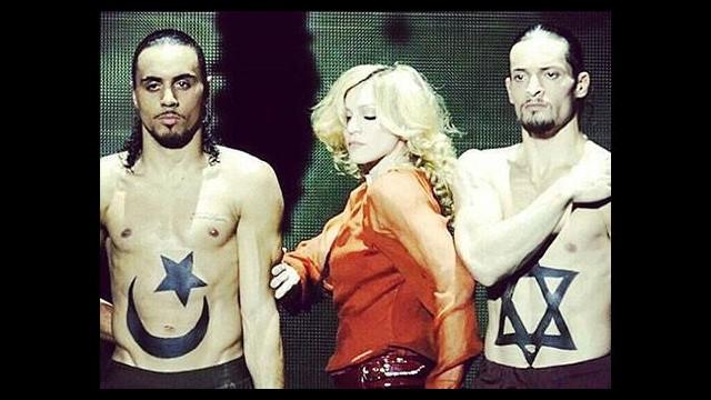 Madonna'dan Ortadoğu çıkışı