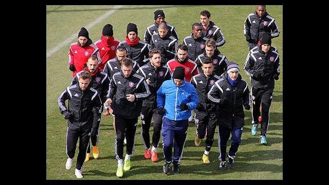 Kardemir Karabükspor'da Mersin İdmanyurdu maçı hazırlıkları