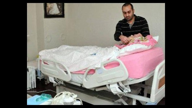 Ağrısız doğum bebeği mezara anneyi komaya soktu