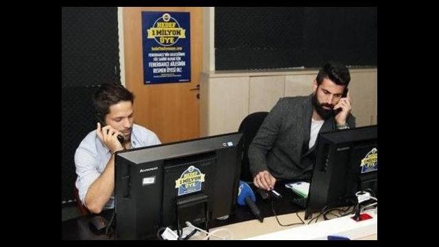 Aziz Yıldırım'a dev destek! Oyuncular telefona sarıldı...