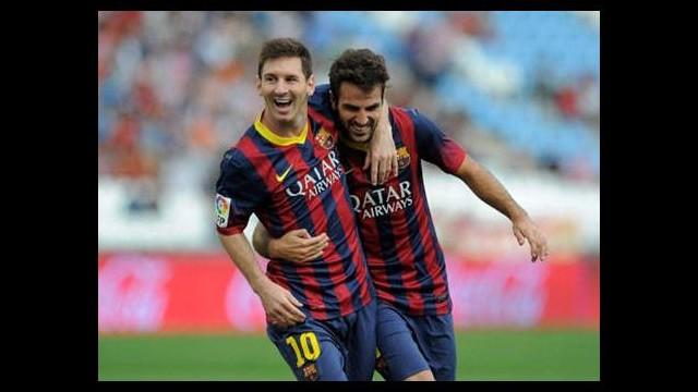 Fabregas: Messi'nin aklını çelmeye...